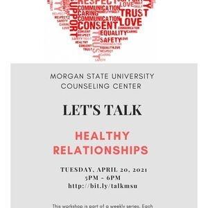 Let's Talk! Healthy Relationships