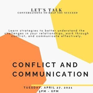 Let's Talk! Conflict and Communication
