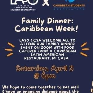 LASO X FAMILY DINNER