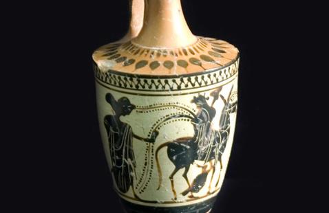 Lekythos 6th Century BCE