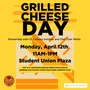 Grilled Cheese Day graphic