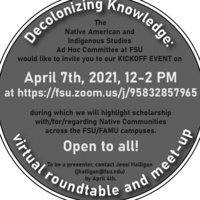 Decolonizing Knowledge: Virtual Roundtable and Meetup