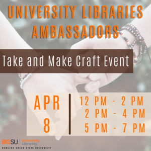 UL Ambassador times for take & make craft event