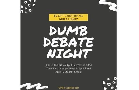 USG Dumb Debate Night