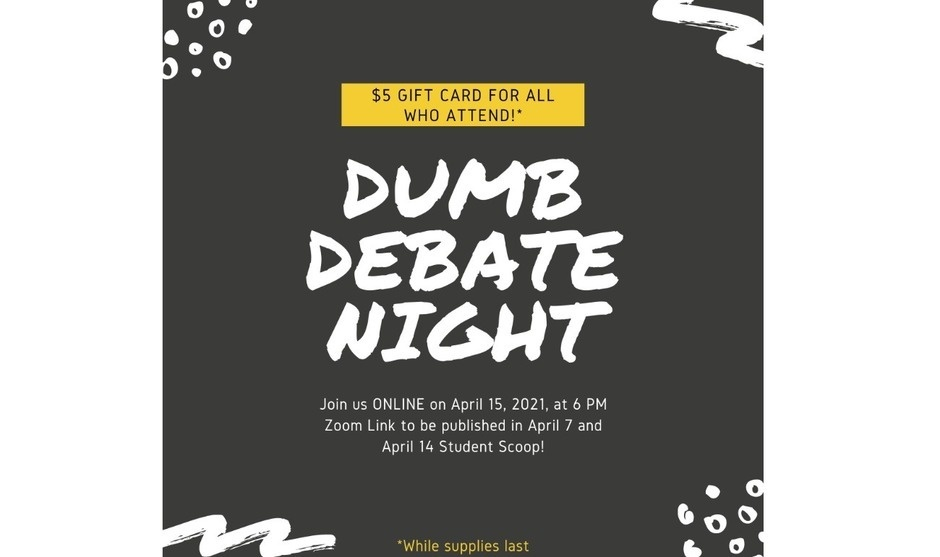 USG Dumb Debate Night