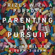 Prizes with a purpose. Parenting in Pursuit. Wed, April 7th. 6-7 p.m. There are lego pieces in the background in a variety of sizes and colors.