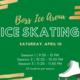 Skate Night at Boss Ice Arena