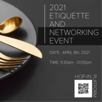 2021 Etiquette and Networking Event