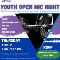 Youth Open Mic Night