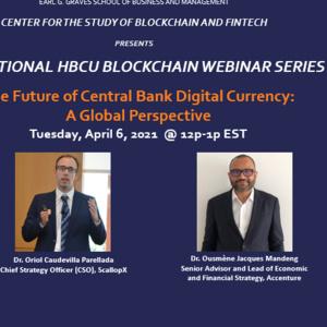National HBCU Blockchain Webinar Series