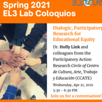 Dialogic, Participatory Research for Educational Equity
