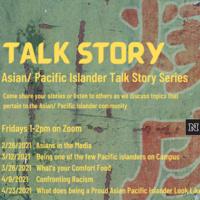 Asian/ Pacific Islander Talk Story Series