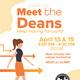 Meet the Deans! Spring 2021 - April 13, 2021