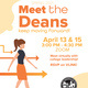 Meet the Deans! Spring 2021 - April 15th, 2021