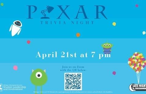 Pixar Trivia Night