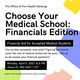 Choose Your Medical School: Financials Edition