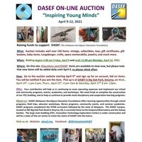 DASEF On-Line Auction flyer