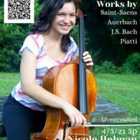 Student Recital: Nicole Holman, cello