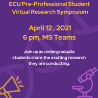 Pre-Professional Student Research Symposium