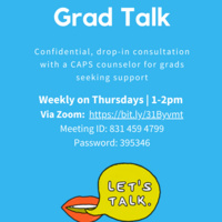 CAPS: Grad Talk