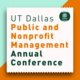 """Public and Nonprofit Management Annual Conference - """"Rising from the Pandemic – Expanding Social and Economic Equity"""""""