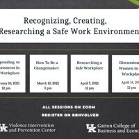Recognizing, Creating,  & Researching a Safe Work Environment