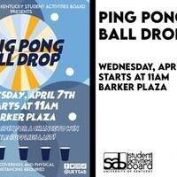 SAB Presents: Ping Pong Ball Drop