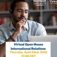 Digital Open House – International Relations