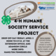 4-H Humane Society Service Project Drop-Off Day