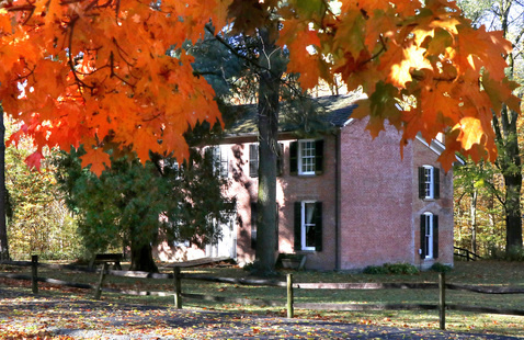 Bronnenberg Home at Mounds State Park, photo by Jerry Byard