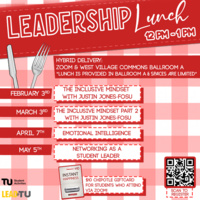Leadership Lunch: Networking for Student Leaders - ONLINE AND IN PERSON