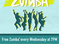 Wellness Wednesday: ZUMBA®, free and weekly