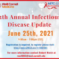 12th Annual Infectious Disease Update a virtual conference