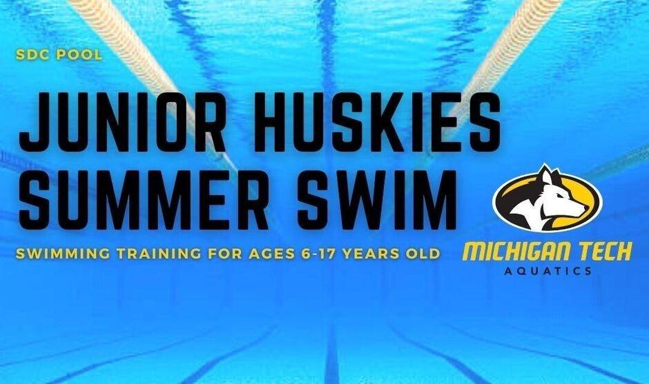 Junior Huskies Summer Swim - Swimming training for ages 6-17