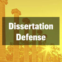 Dissertation Defense - Stephanie Woods