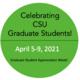 Celebrating Graduate Students April 5-9, 2021