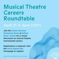 Musical Theatre Careers Roundtable