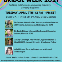 LGBTQAI+ in STEM Panel Discussion