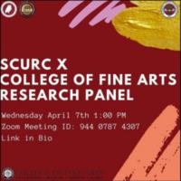 SCURC x College of Fine Arts Research Panel
