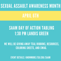 Sexual Assault Awareness Month (SAAM) Day of Action