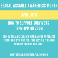 How to Support Student Survivors