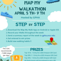 Public Health Week: Virtual Map My Walk-A-Thon Hosted by GPHA