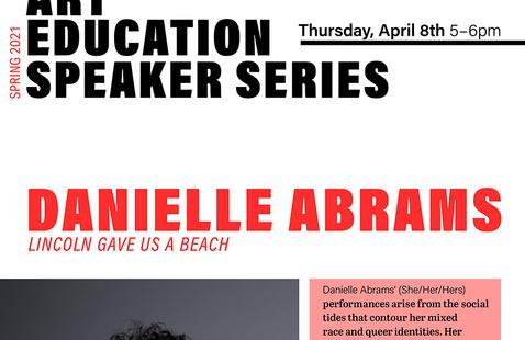 """ART ED SPEAKER SERIES: Danielle Abrams """"Lincoln Gave Us a Beach"""""""