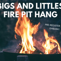 Bigs and Littles Fire Pit Hang