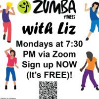 Online Zumba with Liz