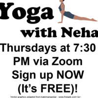 Online Yoga with Neha