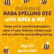 NABA Spelling Bee