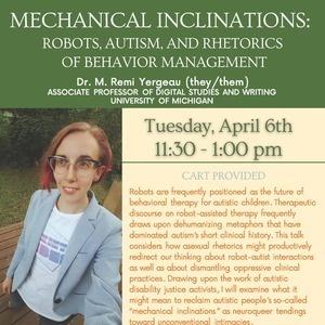 Mechanical Inclinations:  Robots, Autism, and Rhetorics of Behavior Management