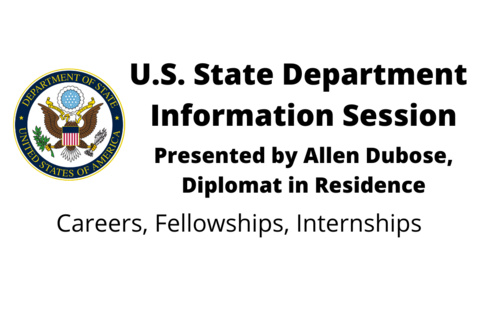U.S. State Department Careers Information Session