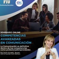 """Seminario Competencias Avanzadas de Comunicación"" (en español)"